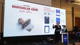 MUHTARLARDAN TEKSİN E-MUHTARIM'A TAM NOT